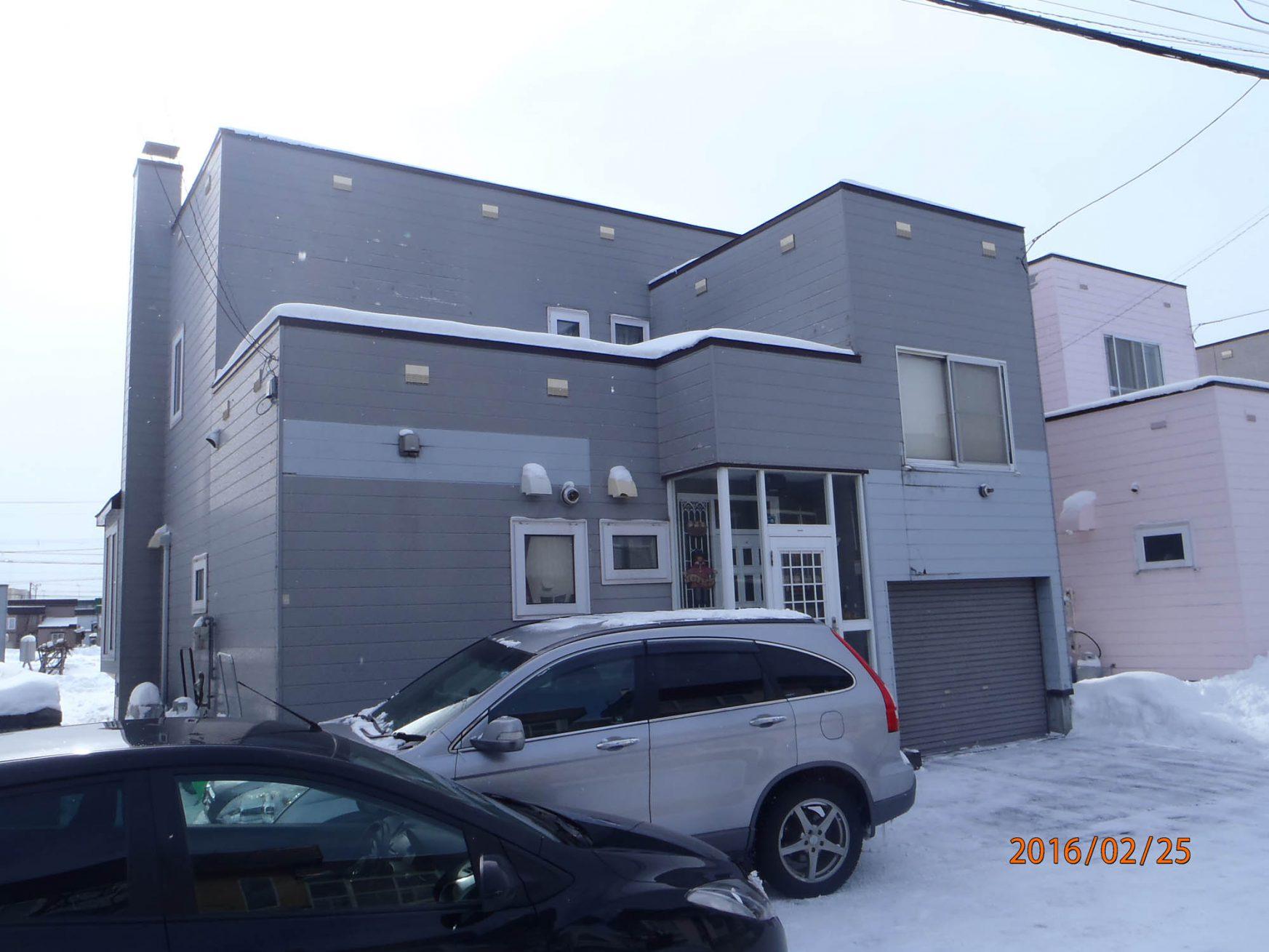 外壁リフォーム(札幌市北区:M様邸) - ビフォー