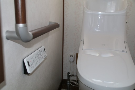 新しいトイレ2