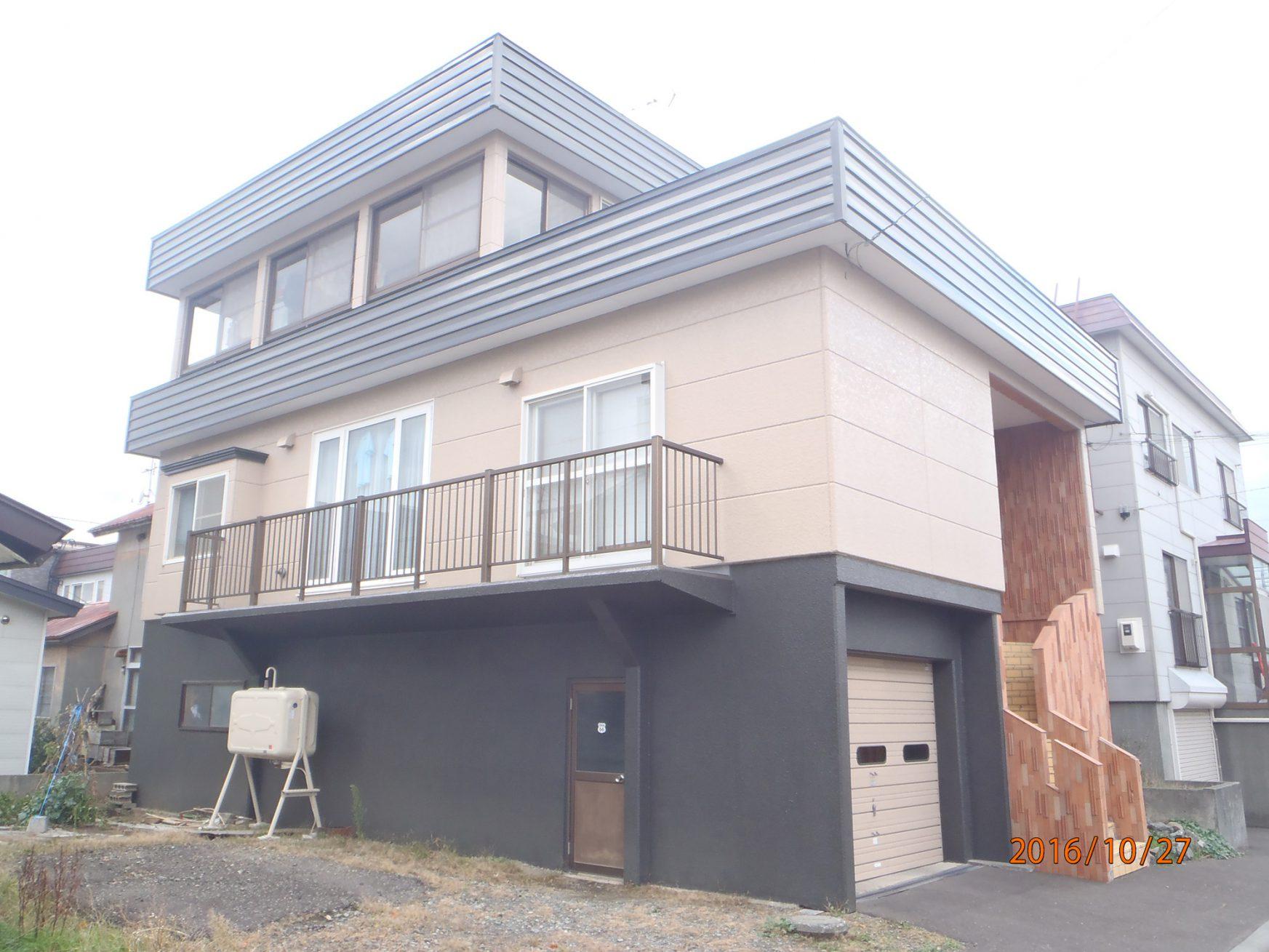 外壁・屋根・基礎の塗装工事 - アフター